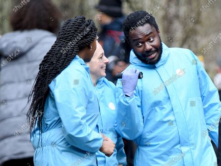 Stock Photo of Babou Ceesay stars in Wolfe as a brilliant but flawed forensic pathologist.