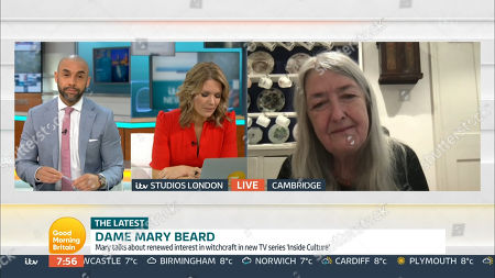 Stock Picture of Alex Beresford, Charlotte Hawkins, Mary Beard