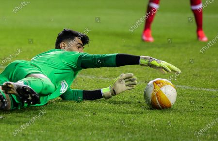 Alireza Beiranvand goalkeeper of Royal Antwerp