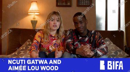Aimee Lou Wood and Ncuti Gatwa present Debut Screenwriter