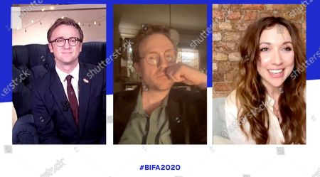 Stock Image of Tom Felton, Rafe Spall and Esther Smith