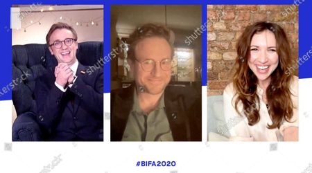 Stock Picture of Tom Felton, Rafe Spall and Esther Smith