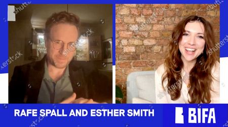 Rafe Spall and Esther Smith