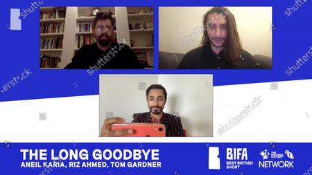 Stock Image of Aneil Karia, Riz Ahmed, Tom Gardner - The Long Goodbye - Best British Short (Sponsored by BFI Network)