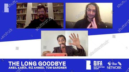 Stock Picture of Aneil Karia, Riz Ahmed, Tom Gardner - The Long Goodbye - Best British Short (Sponsored by BFI Network)