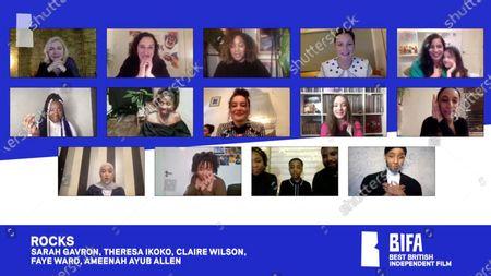 Sareah Gavron, Theresa Ikoko, Claire Wilson, Faye Ward, Ameenah Allen - Rocks - Best British Independent Film