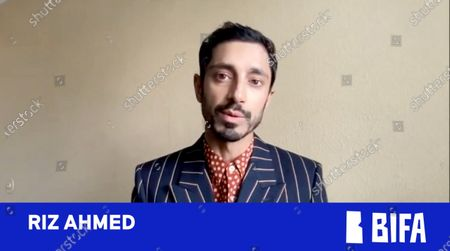 Riz Ahmed presents Most Promising Newcomer
