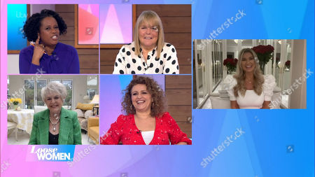 Editorial picture of 'Loose Women' TV Show, London, UK - 18 Feb 2021