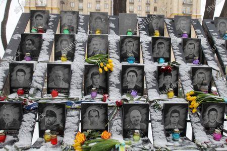Editorial image of The 7th anniversary in Kiev, Ukraine - 18 Feb 2021