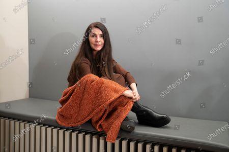 Editorial image of Ana Fernandez portrait session, Madrid, Spain - 18 Feb 2021