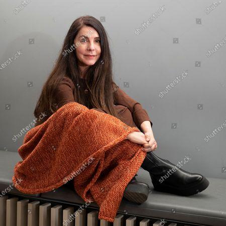 Editorial photo of Ana Fernandez portrait session, Madrid, Spain - 18 Feb 2021