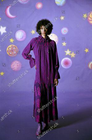 Editorial photo of Womenswear, New York, winter 2021, fashion,, USA - 16 Feb 2021