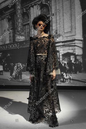 Editorial picture of Womenswear, New York, winter 2021, fashion,, USA - 16 Feb 2021
