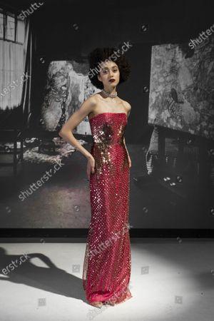 Editorial image of Womenswear, New York, winter 2021, fashion,, USA - 16 Feb 2021