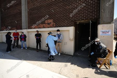 Editorial picture of Daily life amid coronavirus outbreak, New York, USA - 21 May 2020