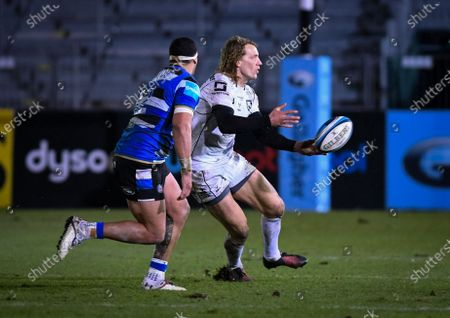 Editorial image of Bath Rugby vs Gloucester Rugby, Gallagher Premiership, The Recreation Ground, Bath, UK - 19 Feb 2021