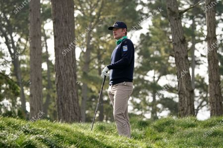 Stock Picture of Brandt Snedeker at the Spyglass Hill Golf Course during the first round of the AT&T Pebble Beach Pro-Am golf tournament, in Pebble Beach, Calif