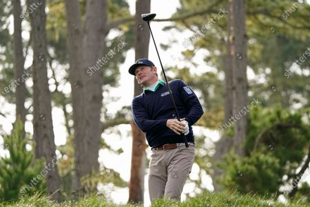 Editorial image of Golf, Pebble Beach, United States - 11 Feb 2021
