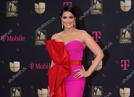 Stock Picture of Dayanara Torres at Premio Lo Nuestro at American Airlines Arena, in Miami