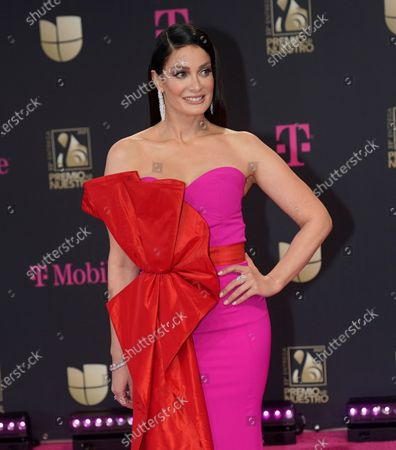 Editorial photo of 2021 Premio Lo Nuestro - Press Line, Miami, United States - 18 Feb 2021