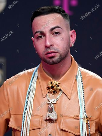 Stock Picture of Justin Quiles arrives at Premio Lo Nuestro at American Airlines Arena, in Miami