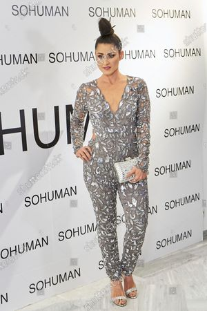 Barei attends to 'Relieve' by Sohuman photocall at White Lab gallery