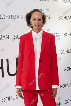 Stock Picture of Godeliv Van den Brandt attends to 'Relieve' by Sohuman photocall at White Lab gallery