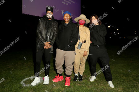Stock Picture of Josiah Bell, Lena Waithe, Lauren Carothers and Tabitha Denholm