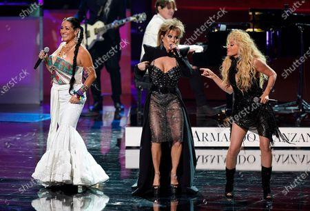 Editorial image of 2021 Premio Lo Nuestro - Show, Miami, United States - 18 Feb 2021