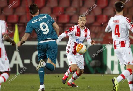 Red Star's Milan Rodic, Crvena Zvezda