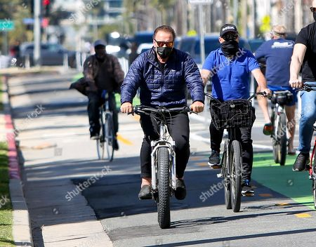 Editorial image of Arnold Schwarzenegger out and about, Los Angeles, California, USA - 18 Feb 2021