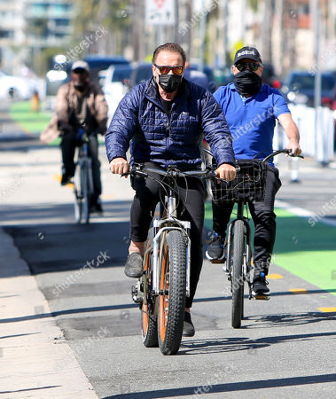 Editorial photo of Arnold Schwarzenegger out and about, Los Angeles, California, USA - 18 Feb 2021