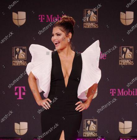 Editorial photo of 'Premio Lo Nuestro' awards, American Airlines Arena, Miami, Florida, USA - 18 Feb 2021