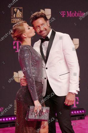 Stock Photo of Irina Baeva and Gabriel Soto
