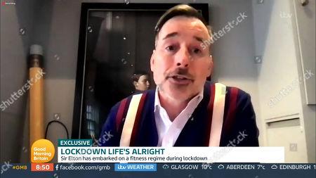Editorial image of 'Good Morning Britain' TV Show, London, UK - 19 Feb 2021