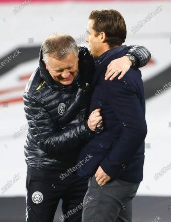 Editorial picture of Fulham v Sheffield United, Premier League, Football, Craven Cottage, London, UK - 20 Feb 2021