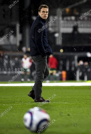 Editorial photo of Fulham v Sheffield United, Premier League, Football, Craven Cottage, London, UK - 20 Feb 2021