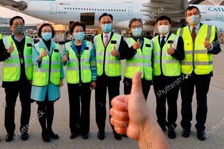 Editorial photo of Virus Outbreak , Hong Kong, China - 19 Feb 2021