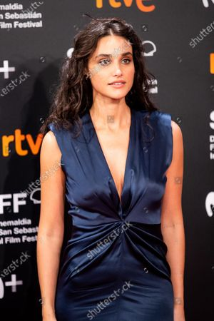 Debora Nascimento attends the 'Pacificado (Pacified)' Premiere during the 67th San Sebastian Film Festival in the northern Spanish Basque city of San Sebastian on September 24, 2019. (Photo by Manuel Romano/NurPhoto)
