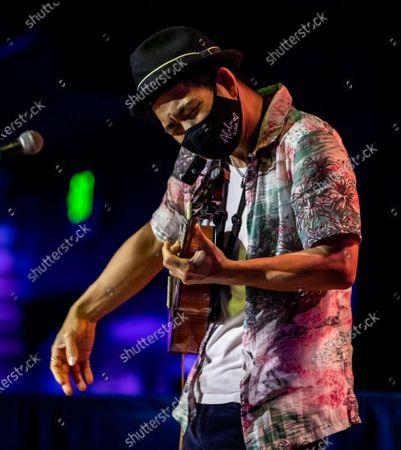 Jake Shimabukuro performs at The Blue Note Hawaii at The Outrigger Waikiki Resort in Honolulu