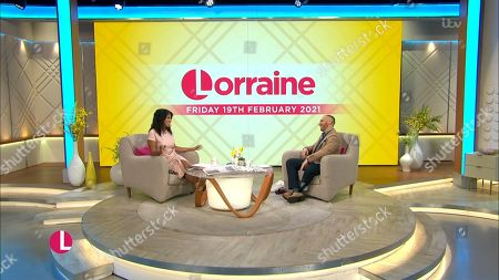 Editorial picture of 'Lorraine' TV Show, London, UK - 19 Feb 2021