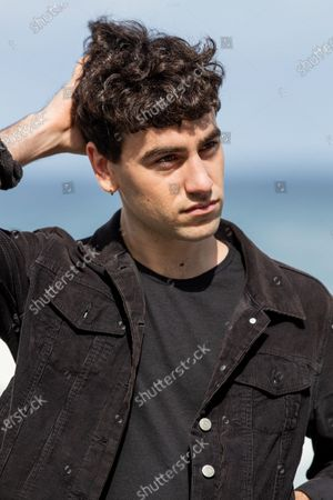 Alex Monner attends the 'La Hija De Un Ladron (A Thief's Daughter)' Photocall during the 67th San Sebastian Film Festival in the northern Spanish Basque city of San Sebastian on September 25, 2019. (Photo by Manuel Romano/NurPhoto)