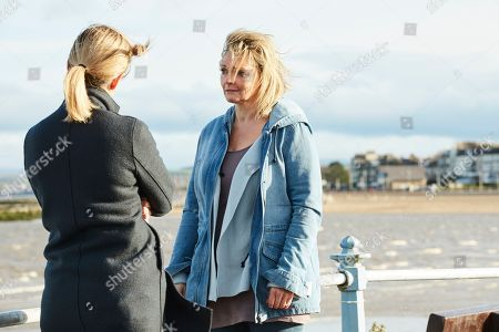 Morven Christie as DC Lisa Armstrong and Sharon Small as Rose Marshbrook