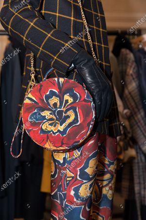 Model, bag accessory
