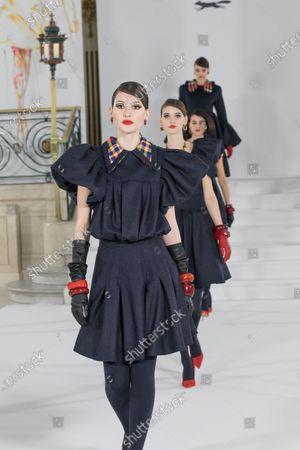 Editorial image of Paul Costelloe show, Runway, Autumn Winter 2021, London Fashion Week, UK - 19 Feb 2021
