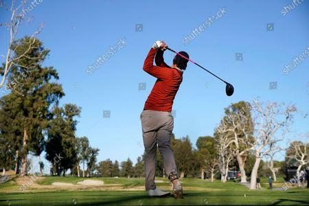 Editorial image of Genesis Invitational Golf, Los Angeles, United States - 19 Feb 2021
