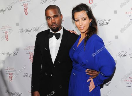 Kanye West, left, and Kim Kardashian attend Gabrielle's Angel Foundation Angel Ball cancer research benefit on Oct. 22, 2012, in New York. Kim Kardashian West filed for divorce, from Kanye West after 6 1/2 years of marriage. Sources familiar with the filing but not authorized to speak publicly confirmed that Kardashian filed for divorce in Los Angeles Superior Court. The filing was not immediately available