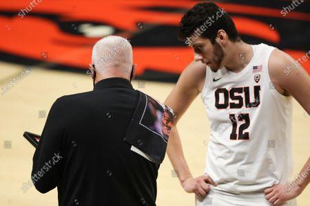 Editorial image of Utah Oregon St Basketball, Corvallis, United States - 18 Feb 2021