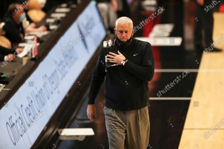 Editorial picture of Utah Oregon St Basketball, Corvallis, United States - 18 Feb 2021