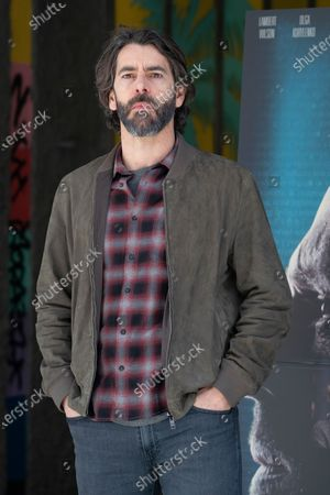 Stock Image of Spanish actor Eduardo Noriega attends 'Los Traductores' photocall at Ocho Y Medio Library